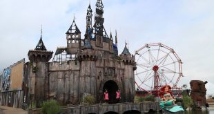Dismaland: Not the Happiest Place on Earth