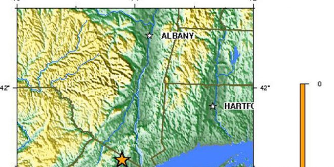 Small Earthquake Rattles New Jersey Overnight