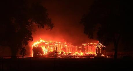 At least 81 homes, 51 Outbuildings Destroyed by Butte Fire Burning in Amador and Calaveras counties