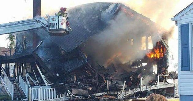 Apparent Gas Explosion Destroys Building in Pennsville, New Jersey