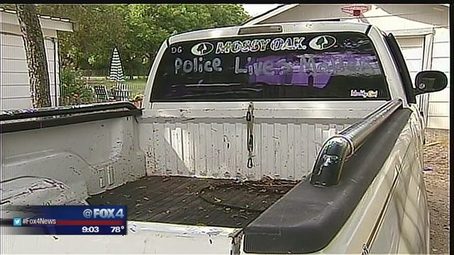 Texas Man Arrested For Vandalizing His Own Truck With #BlackLivesMatter Message