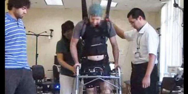 VIDEO Paralyzed Man Walked Again Using Brain-Wave System Technology