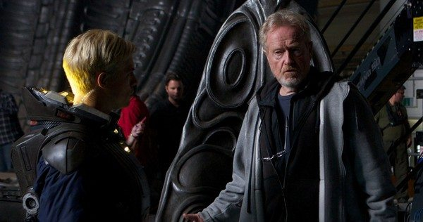VIDEO Ridley Scott Reveals 'Prometheus 2′ Title Alien: Paradise Lost