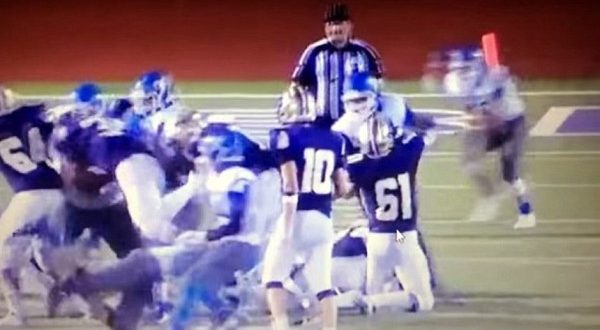 Texas High School Players Suspended, Could Face Charges for Hitting Referee from Behind