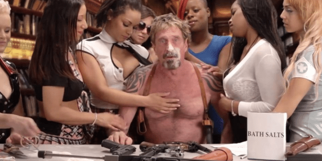 Software Anti-Virus Maker and Ex-Fugitive John McAfee is running for President under Self-Started 'Cyber Party'