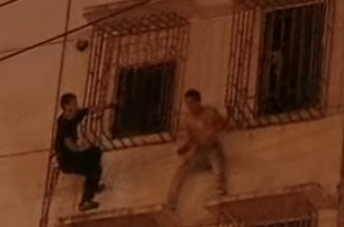 VIDEO Ninja-Like Cops Save A Suicidal Man In The Most Amazing Way