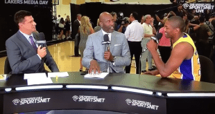 VIDEO Metta World Peace is BACK for Lakers Media Day 2015