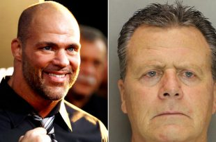 Wrestler Kurt Angle's brother accused of killing wife over vodka