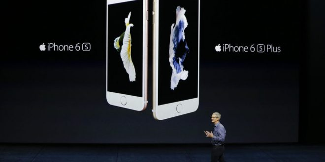VIDEO Apple Unveils iPhone 6S and 6S Plus with New Tech Called 3D Touch