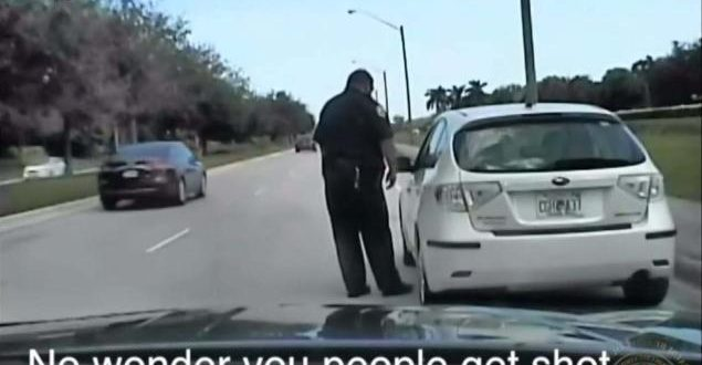 VIDEO Furious Florida Woman says 'No Wonder You People Get Shot' to Police
