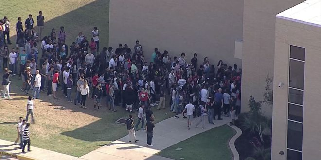 Students returning to class at the busiest high school in North Texas, Irving MacArthur