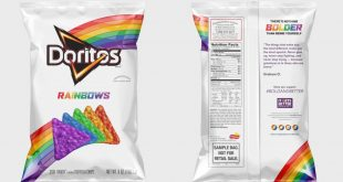 Frito-Lay Releases New 'Doritos Rainbows' to Support LGBT Community