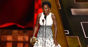 VIDEO Viola Davis Makes History as First Black Woman to Win Best Actress in a Drama Series