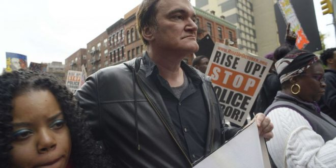 Quentin Tarantino Joins Protest Against Police Brutality in New York
