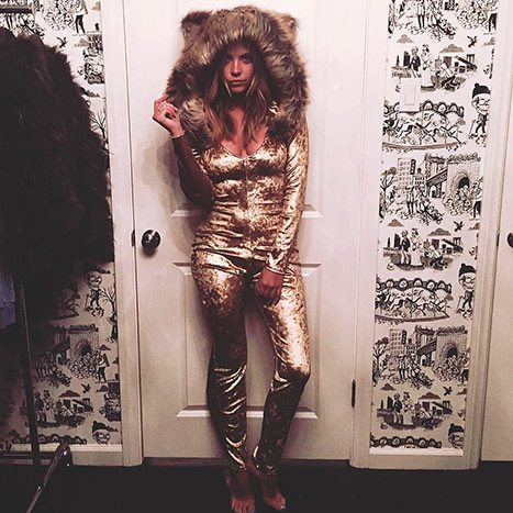 Ashley Benson Upsets Fans With Controversial Cecil the Lion Halloween Costume.