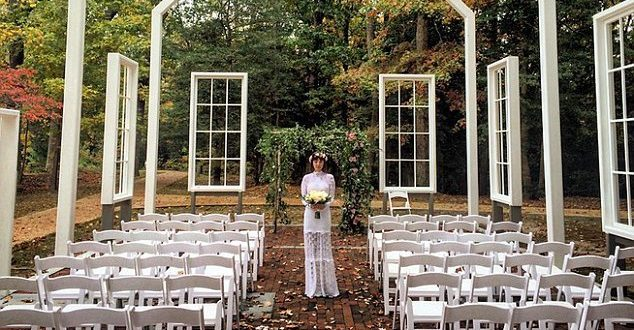 Jason Mraz Marries Christina Carano in Woodland Ceremony