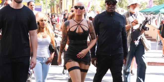 Amber Rose Leads Protest Against Sexual Assault Victim-Blaming in LA