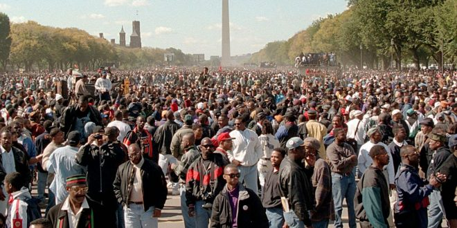 Million Man March: Crowds Rally for 'Justice or Else' on 20th Anniversary