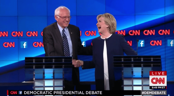 VIDEO Bernie Sanders Refuses to Bash Clinton over Email Scandal, Crowd Goes Wild