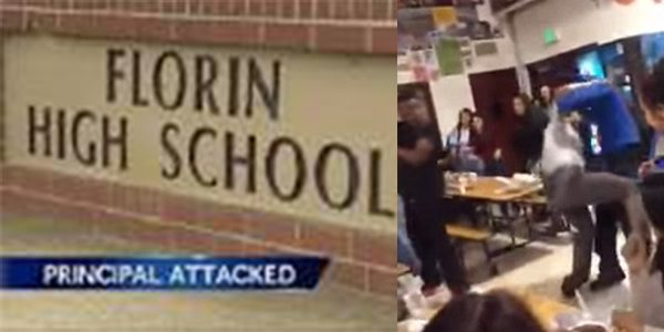 Video 3 Florin High School Students Arrested After Brawl and Body-Slamming Principal on Ground