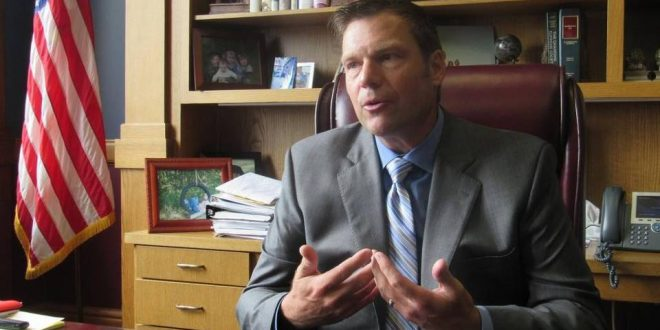 Kansas Secretary of State Kris Kobach Files to Prosecute 3 Voter Fraud Cases