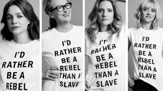 Actress Meryl Streep's 'Suffragette' T-shirt Choice Sparks Social Media Backlash