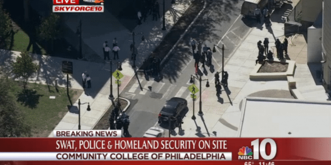 Search for Gunman Puts Community College of Philadelphia on Lockdown