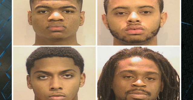 4 Men Arrested, Charged in Alleged Rape of Unconscious Woman