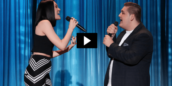 Jessie J Duet With Tom Bleasby
