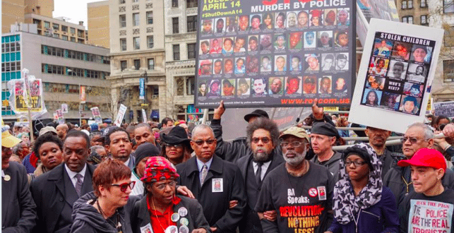 #RiseUpOctober: 3-Day New York Event Focuses on Police Brutality [VIDEO]
