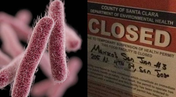 At Least 30 People Infected with Shigella Bacteria After Eating At San Jose Restaurant