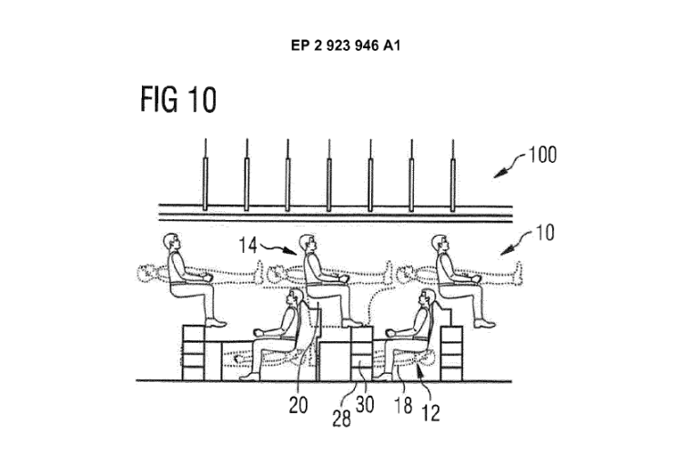 Airbus Reveals Idea to Stack fliers on Top of Each Other in New Patent