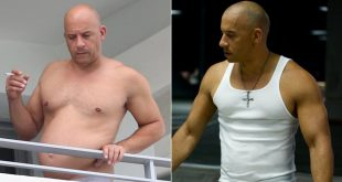 Vin Diesel Shows Off His 'Dad Bod' In Miami