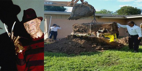 Nightmare on Elm Street? Coffin Found Buried in Mission, Texas Home's Backyard
