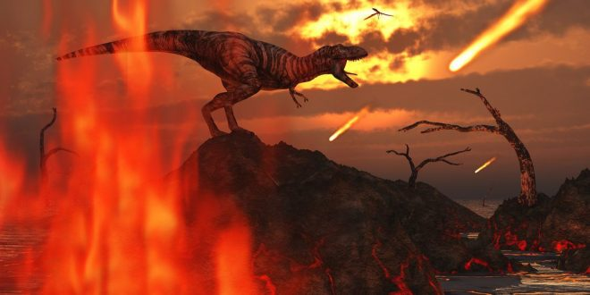 Volcanoes May Have Helped Asteroid Wiped Out Dinosaurs