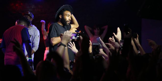 Childish Gambino Booed Off Stage in Newcastle