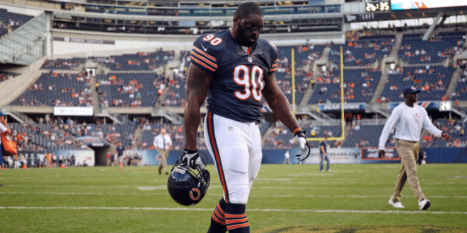 "Ex-Bear Jeremiah Ratliff 'Felt Like Killing Everybody in the Building,' Police Say http://bit.ly/1PagZto Ratliff Also said, ""I am the devil,"" and he wished staff member's children would die."