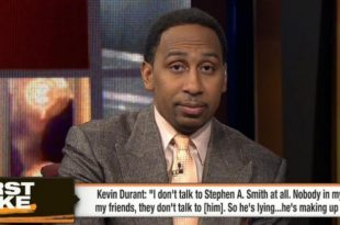 """VIDEO Stephen A. Smith to Kevin Durant: """"You Don't Want to Make an Enemy Out of Me"""""""