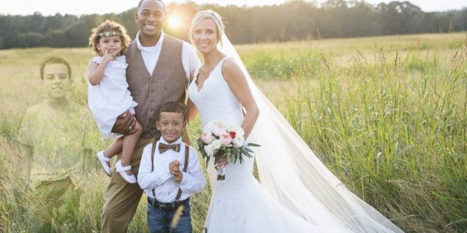 Kennesaw, Georgia: Woman's Wedding Photo Pays Tribute to Son Who Died of Leukemia