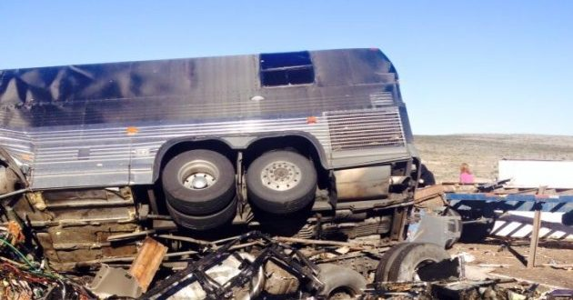 VIDEO The Ghost Inside Tour Bus Involved in Collision With Semitruck in Texas