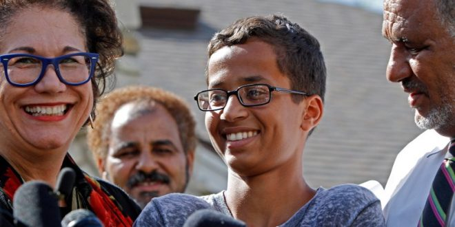 Family of Ahmed Mohamed Seeks $15 Million in Damages From City of Irving, Irving Independent School District