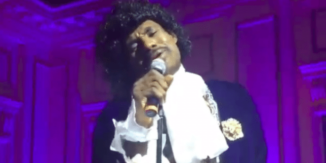 LeBron James Singing Prince's 'Purple Rain' Wins Halloween