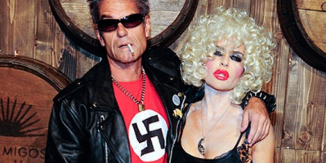 Lisa Rinna Apologizes for Husbands Harry Hamlin's Swastika Halloween Costume