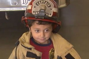 Phelan, California: Grandson Evacuates Himself and Grandmother From House After Fire