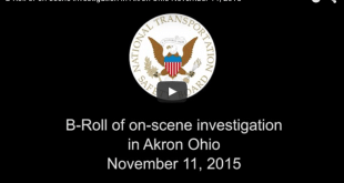 National Transportation Safety Board Releases Video of Plane Crash Investigation in Akron, ohio