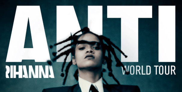 "Rihanna Announces 'Anti' World Tour For Her Upcoming and Highly Anticipated Album, ""ANTI."""