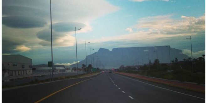 UFO-Shaped Clouds Spotted in Cape Town, South Africa