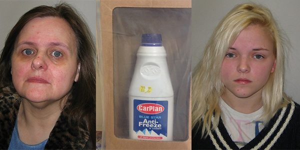 Jail For Woman Who Poured Antifreeze into Husband's Cherry Lambrini on Christmas Day
