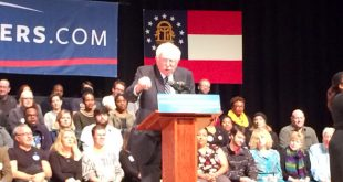 Bernie Sanders: Democratic Presidential Candidate Holds Town Hall Meeting in Savannah, Ga.