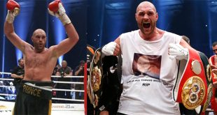 Tyson Fury Defeats Wladimir Klitschko in 12 Rounds for World Heavyweight Championship Title